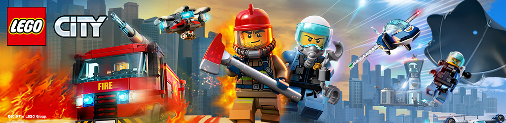 LEGO-City-Fire-Police