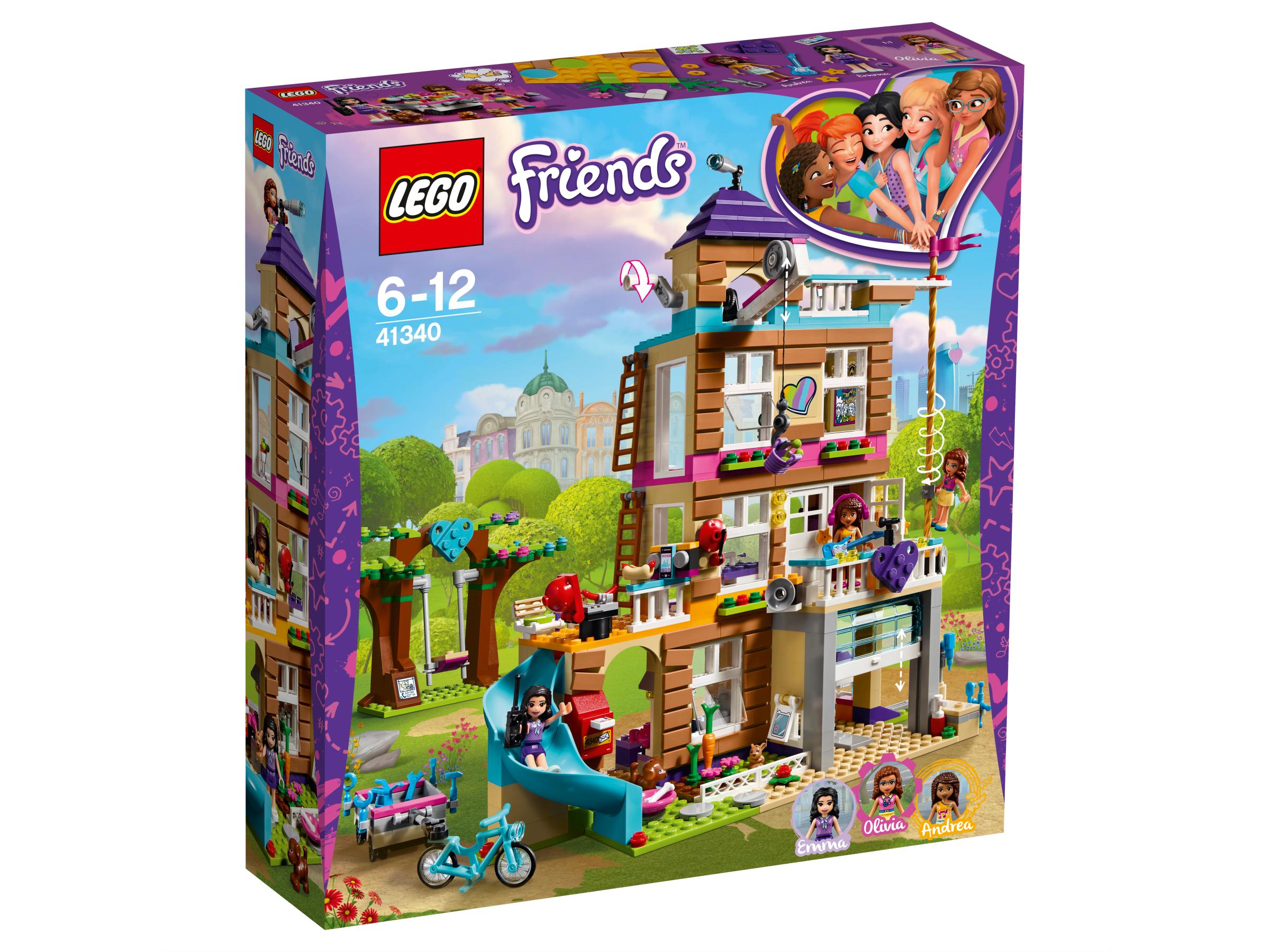 26121284f LEGO Friends Dům přátelství 41340 | KostičkyLega.cz