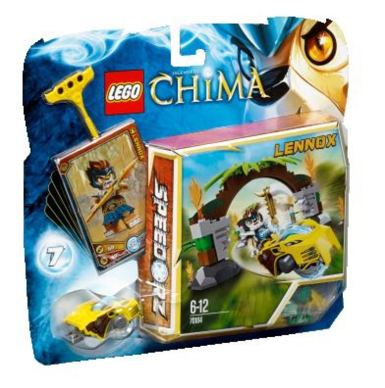 LEGO Chima Brány do džungle 70104