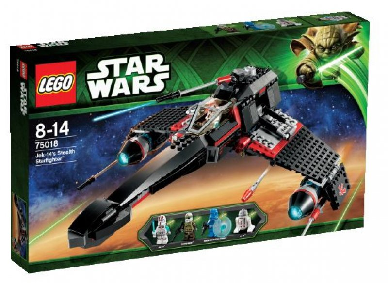 LEGO Star Wars™ JEK-14's Stealth Starfighter™ 75018
