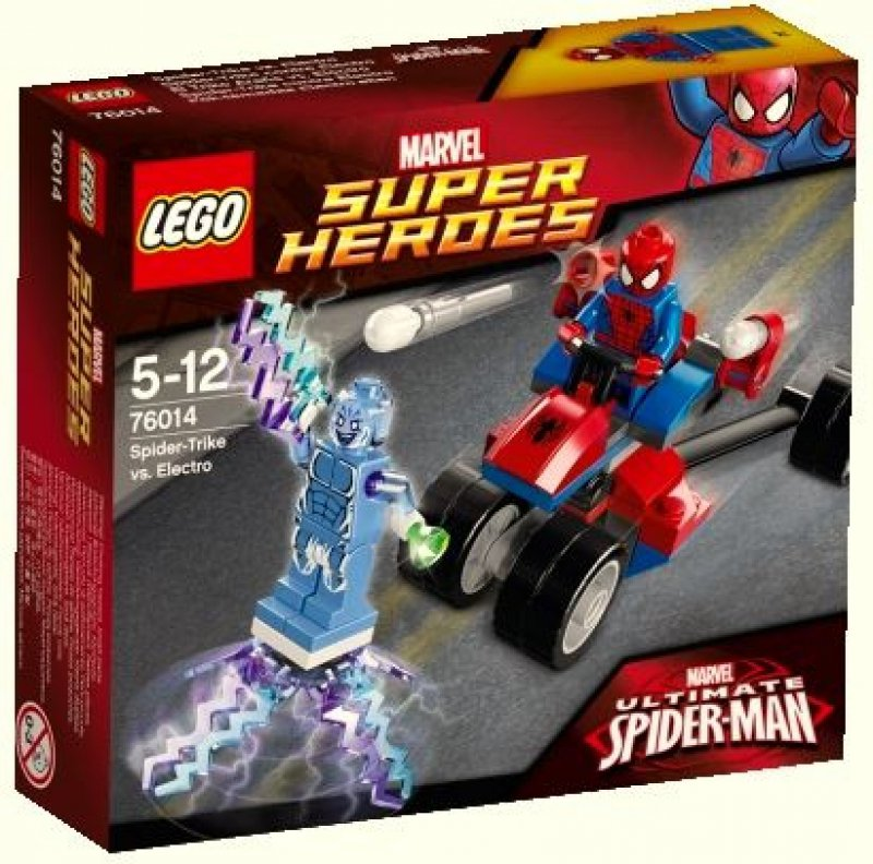LEGO Super Heroes Spider-Trike vs. Electro™ 76014