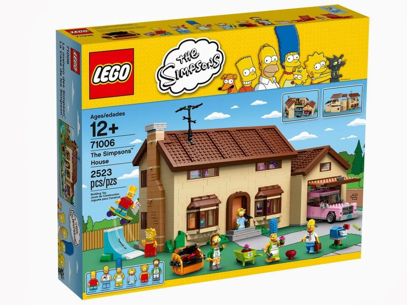 LEGO Simpsons Dům Simpsonových (The Simpsons House) 71006