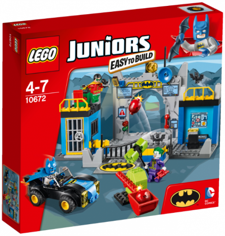 LEGO Juniors Batman™: Obrana Betcave 10672