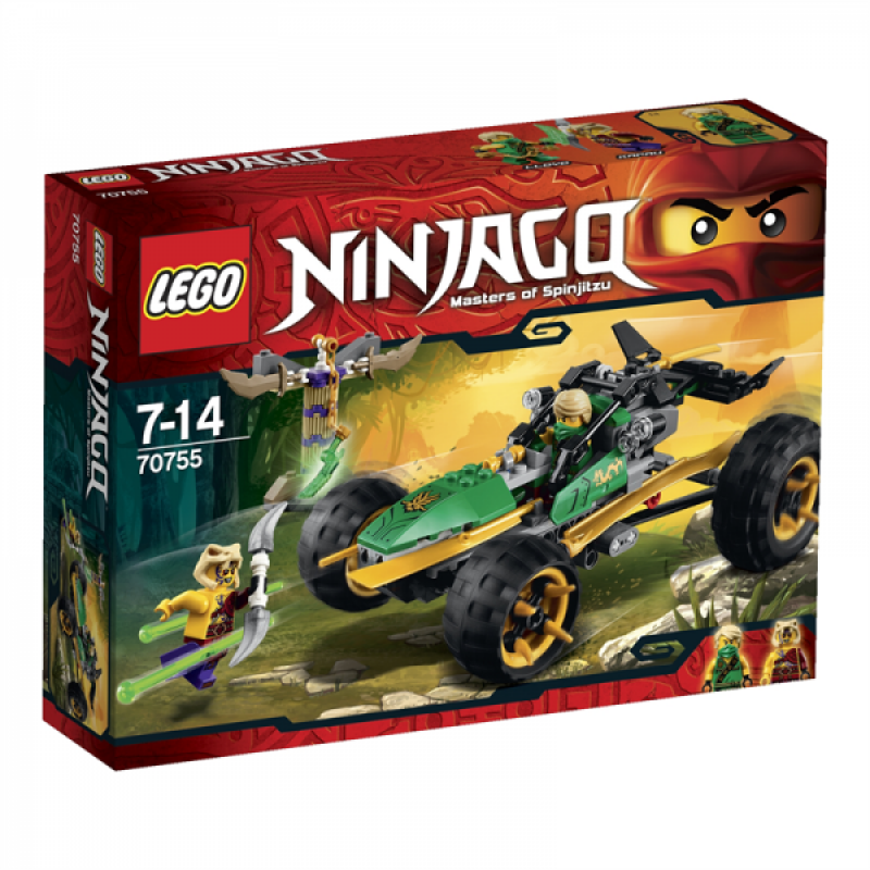 LEGO Ninjago Bugina do džungle 70755