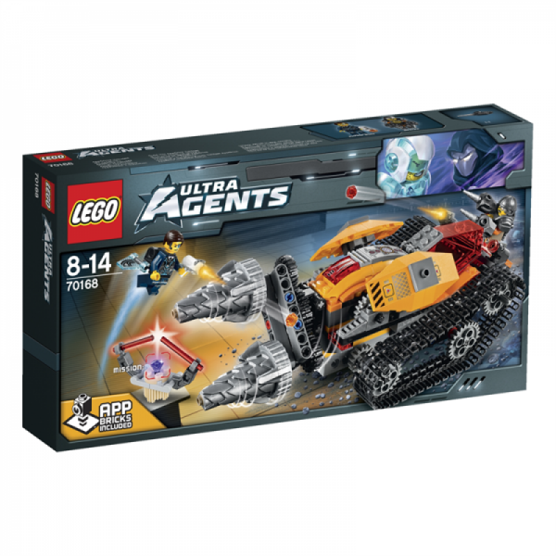 LEGO Ultra Agents Drillex krade diamant 70168