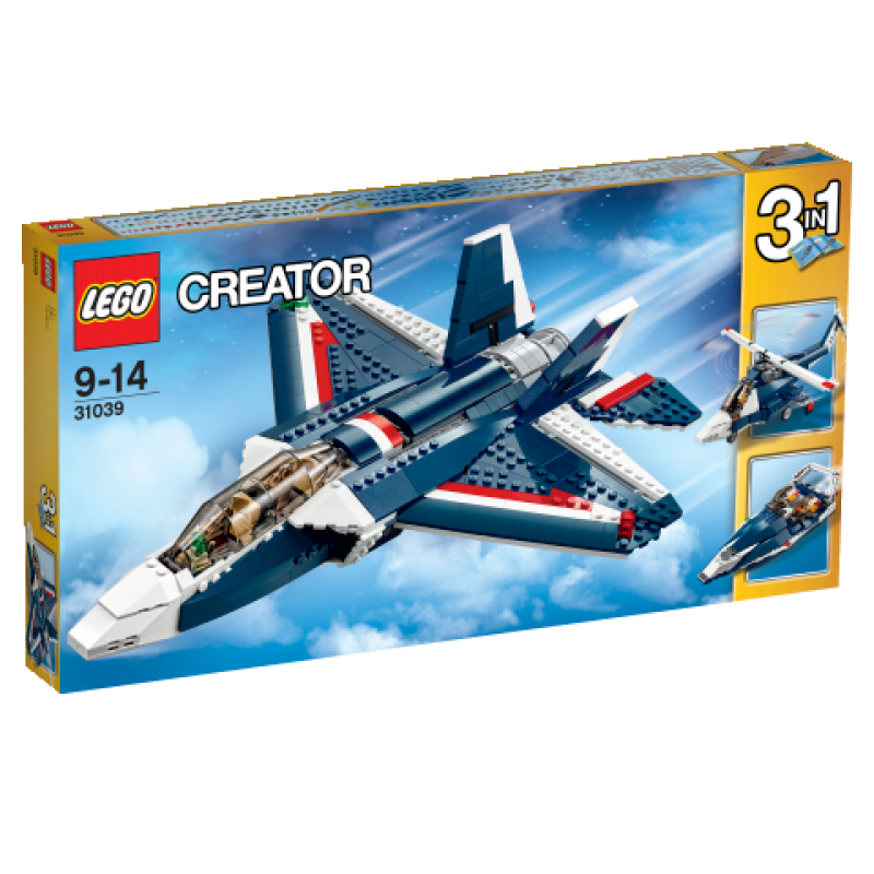 LEGO Creator Stíhačka Blue Power 31039