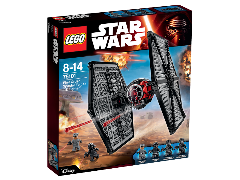 LEGO Star Wars™ First Order Special Forces TIE fighter™ 75101