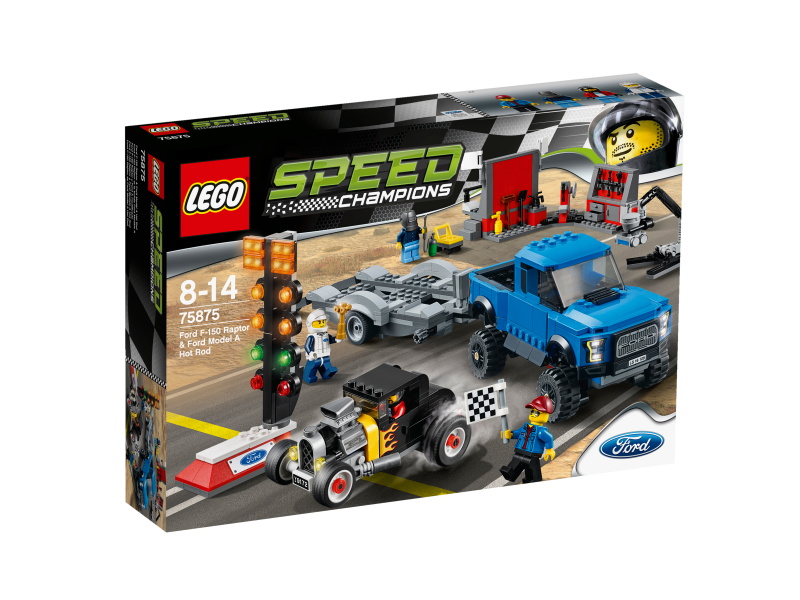 LEGO Speed Champions Ford F-150 Raptor a Ford Model A Hot Rod 75875