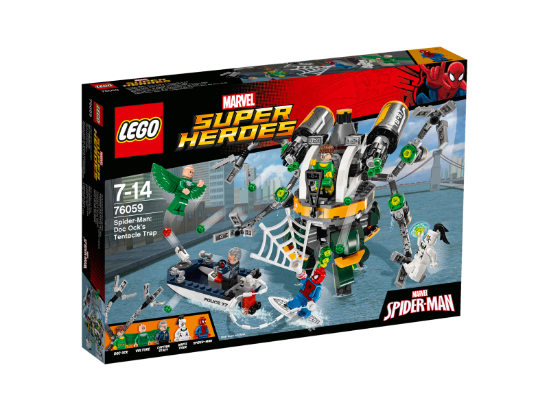 LEGO Super Heroes Spiderman: Past z chapadel doktora Ocka 76059