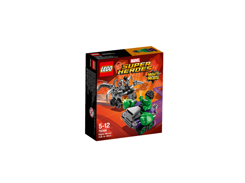 LEGO Super Heroes Mighty Micros: Hulk vs. Ultron 76066