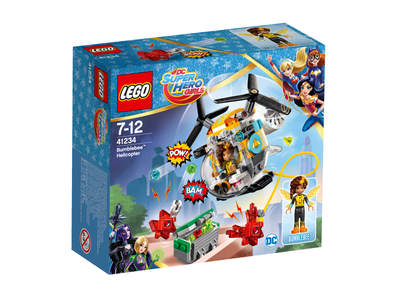 LEGO Super Hero Girls Bumblebee™ a helikoptéra 41234