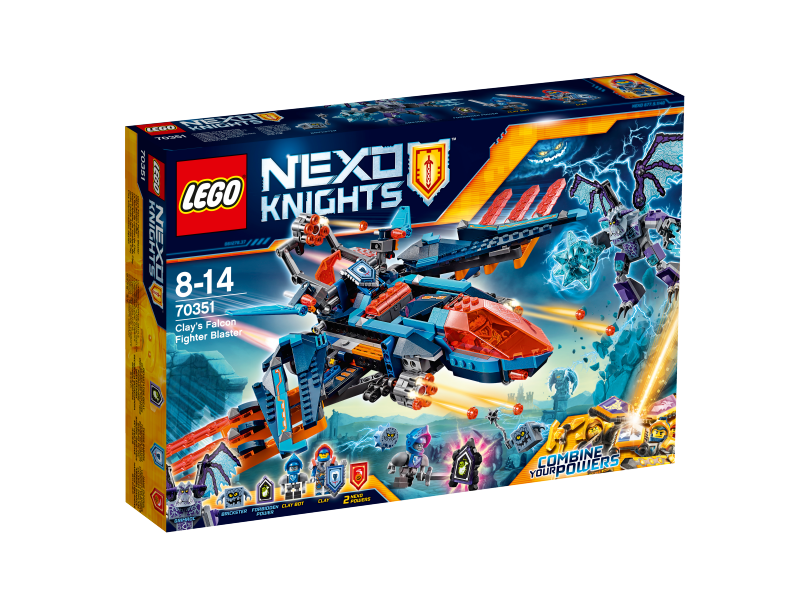 LEGO Nexo Knights Clayův letoun Falcon Fighter Blaster 70351