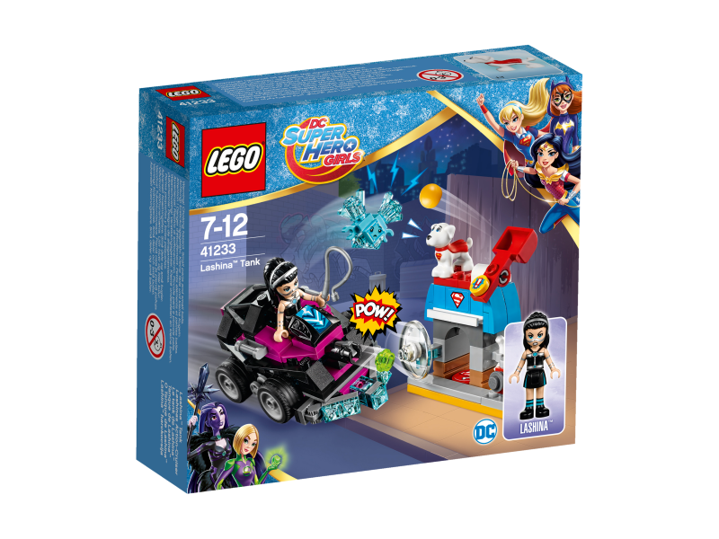 LEGO Super Hero Girls Lashina™ a vozidlo do akce 41233