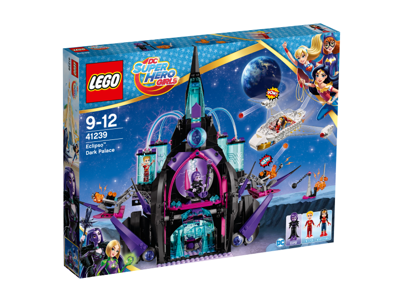 LEGO Super Hero Girls Temný palác Eclipso™ 41239