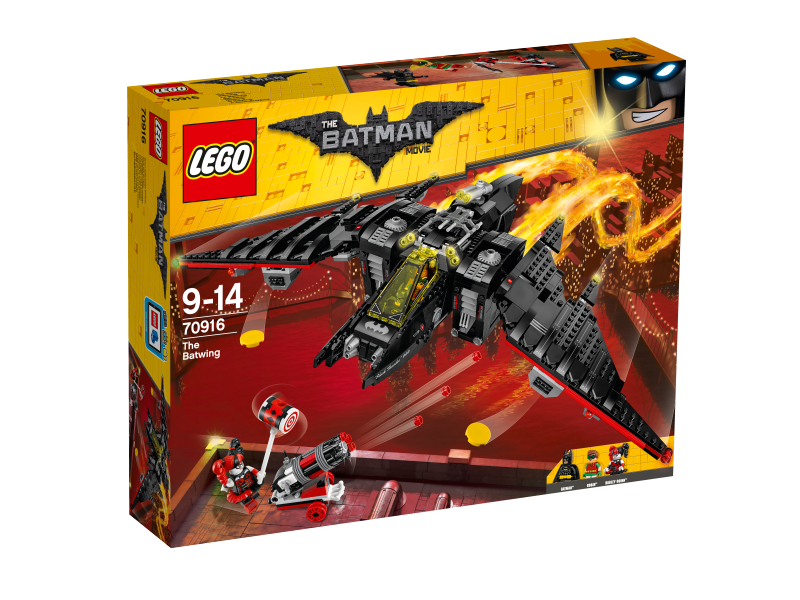LEGO Batman Movie Batmanovo letadlo 70916