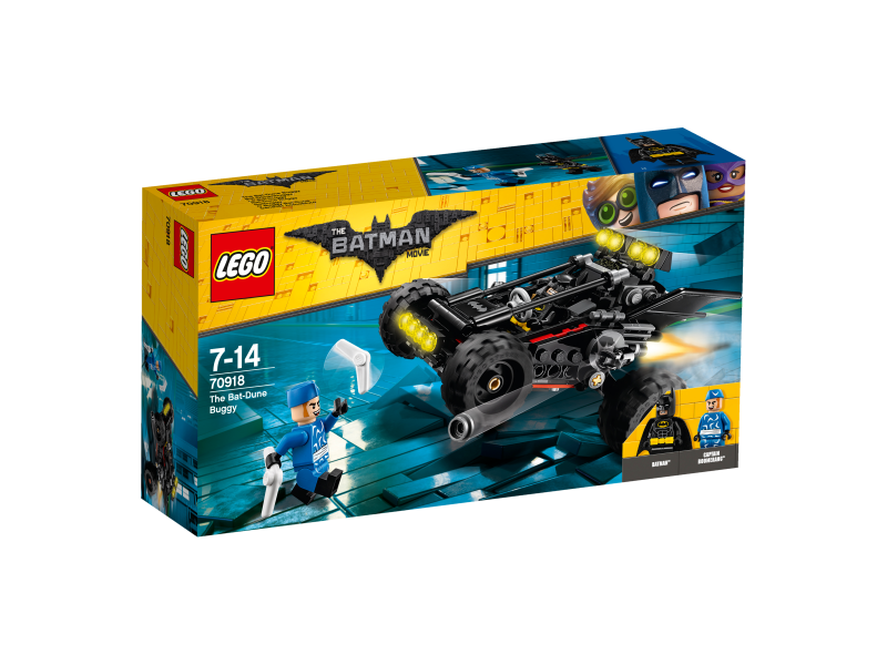 LEGO Batman Movie Pouštní Bat-bugina 70918