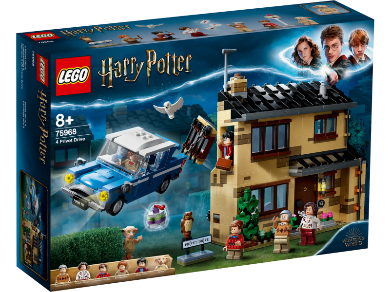 LEGO Harry Potter Zobí ulice 4 75968