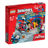 LEGO Juniors Spider-Manova™ skrýš 10687