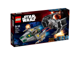 LEGO Star Wars™ Vaderova stíhačka TIE Advanced vs. stíhačka A-Wing 75150