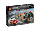 LEGO Speed Champions 1967 Mini Cooper S Rally a 2018 MINI John Cooper Works Buggy 75894