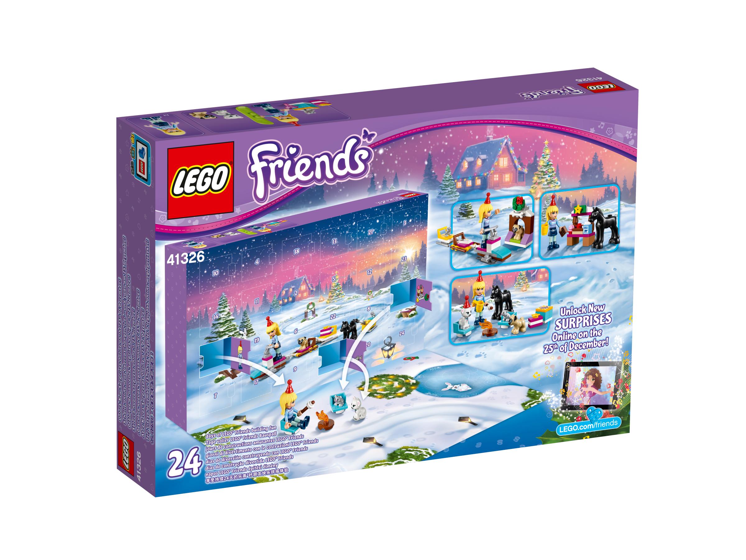 adventni kalendar lego friends LEGO Friends Adventní kalendář 41326 | KostičkyLega.cz adventni kalendar lego friends