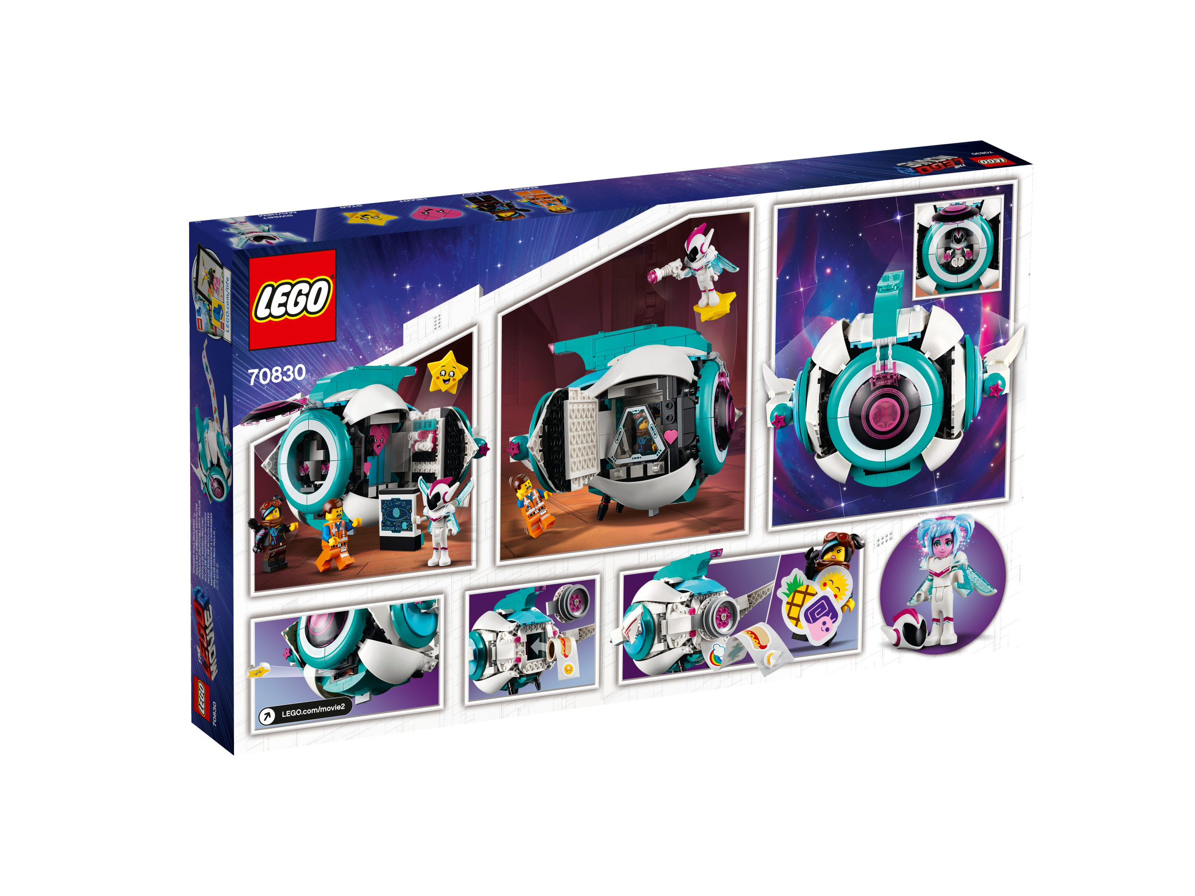 b16fc3e7e LEGO Movie Kosmická loď generálky Mely! 70830   KostičkyLega.cz