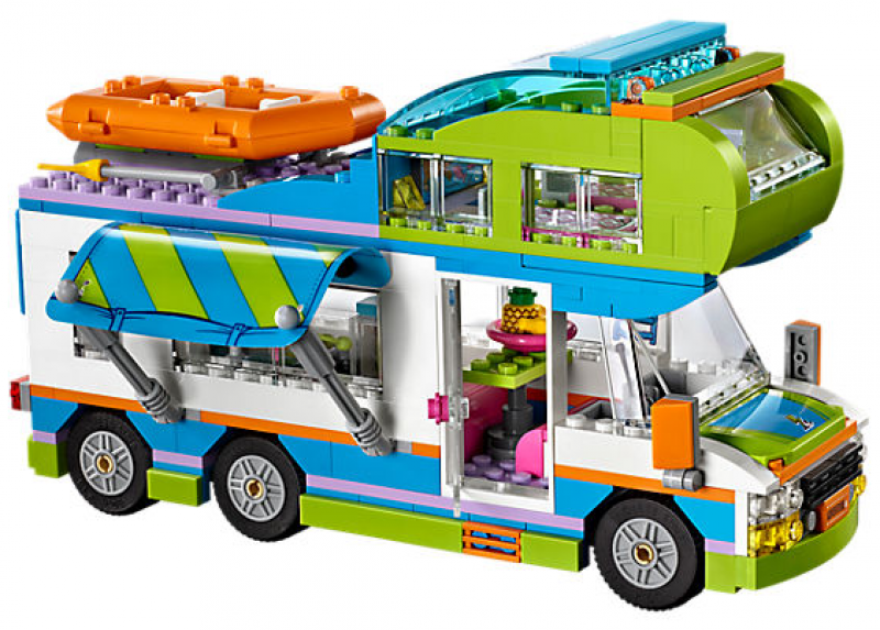 lego friends mia a jej karavan 41339 kosti. Black Bedroom Furniture Sets. Home Design Ideas